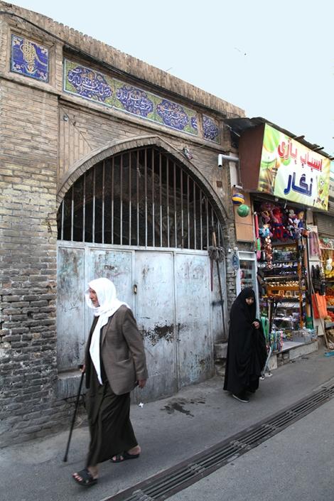 اب انبار حوض برجی،جاذبه های فرهنگی گردشی شهر مشهد
