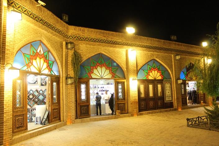 کاروانسرای بابا قدرت،دوره قاجار،جاذبه های تاریخی فرهنگی شهر مشهد