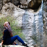 ابشار زیبای تلغور،از تفرجگاه های مشهد،جاهای دیدنی مشهد