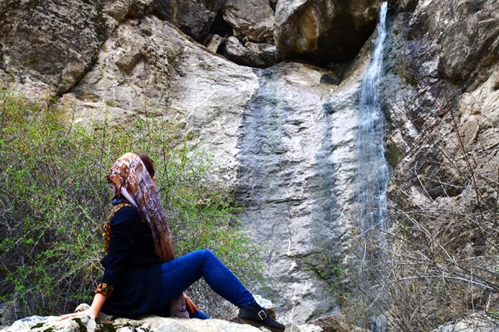 ابشار فصلی تلغور،از تفرجگاه های مشهد،جاهای دیدنی مشهد