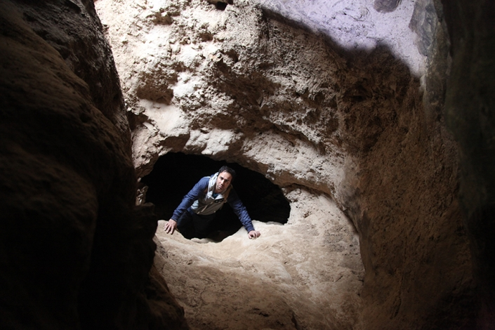 غار زمینی اندرخ،غار نوردی،جاذبه های گردشگری