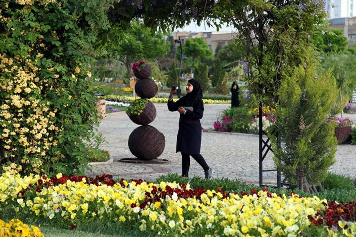 باغ گلها،پارک ها و بوستانهای شهر مشهد،جاذبه های گردشگری شهر مشهد،دیدنی های شهر مشهد