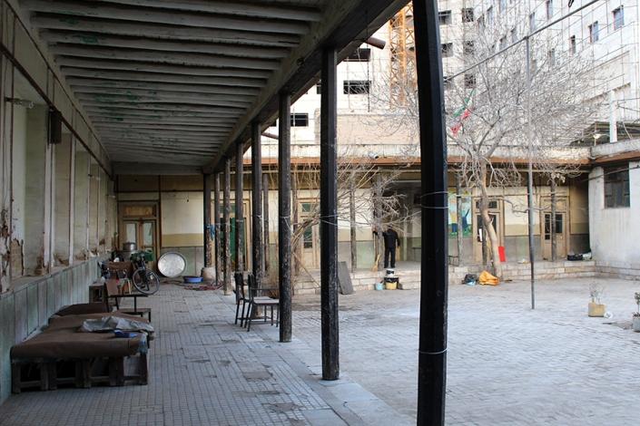 مدرسه تاریخی محله عیدگاه