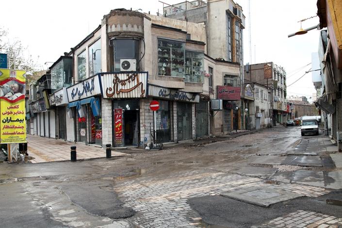محله سراب،کوچه شاهین فر(بازارچه سراب)،کوچه های قدیمی مشهد،مناطق قدیمی مشهد،بافت تاریخی مشهد،قدیمی ترین محله های مشهد