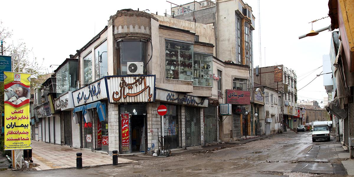 محله سراب،کوچه شاهین فر،کوچه های قدیمی مشهد،مناطق قدیمی مشهد،بافت تاریخی مشهد،قدیمی ترین محله های مشهد