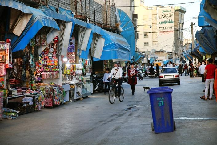تپل محله،کوچه بازارچه حاج اقاجان،کوچه های قدیمی مشهد،مناطق قدیمی مشهد،بافت تاریخی مشهد،قدیمی ترین محله های مشهد