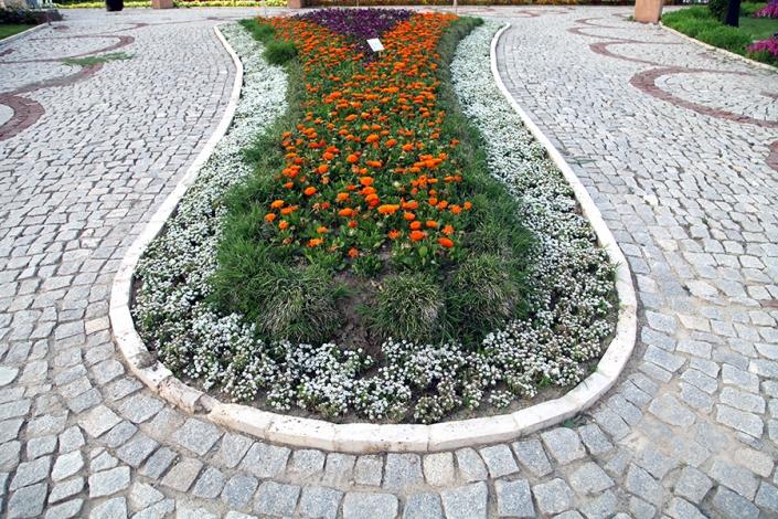 باغ گلها بلوار معلم،پارک ها و بوستانهای شهر مشهد،جاذبه های گردشگری شهر مشهد،دیدنی های شهر مشهد