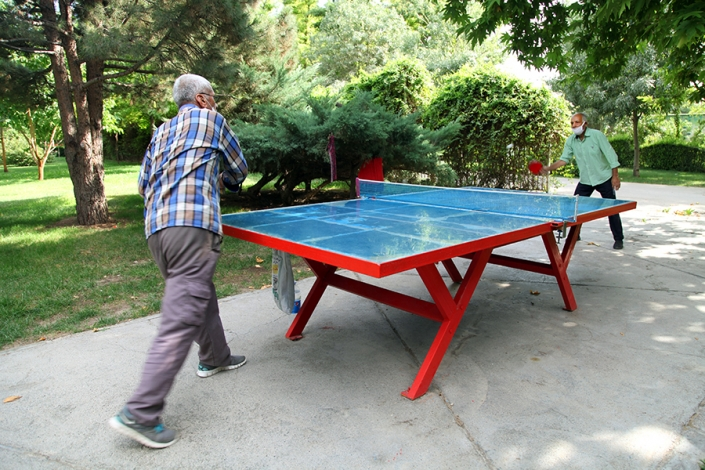 وسائل ورزشی پارک پردیس،محوطه پارک پردیس،پارک ها و بوستانهای شهر مشهد،جاهای دیدنی مشهد