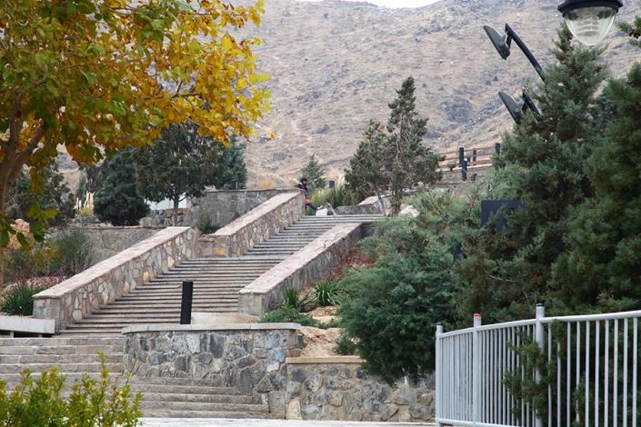 پلکان بابا کوهی،پارک ها و بوستانهای شهر مشهد،جاذبه های گردشگری شهر مشهد،دیدنی های شهر مشهد