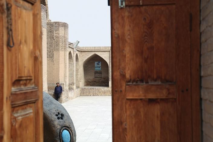 کاروانسرای طرق،رباط طرق،جاذبه های تاریخی فرهنگی شهر مشهد،جاهای دیدنی مشهد