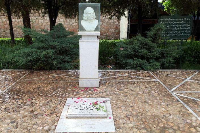 ارامگاه اخوان ثالث،ارمگاه فردوسی،جاذبه های تاریخی فرهنگی شهر مشهد،جاهای دیدنی مشهد