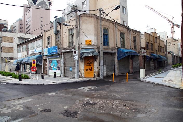 محله چهار باغ،کوچه چهار باغ، خانه های تاریخی مشهد،مناطق قدیمی مشهد،بافت تاریخی مشهد،قدیمی ترین محله های مشهد