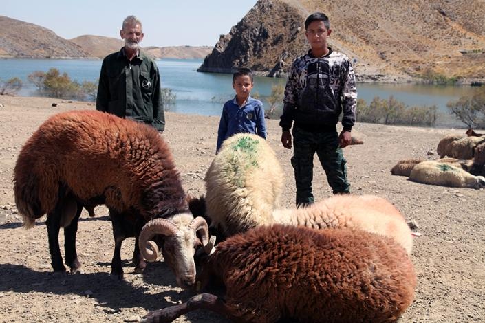روستای کرتیان،کنار سد طرق،از تفرجگاه های مشهد،جاهای دیدنی مشهد،حوالی رودخانه طرق