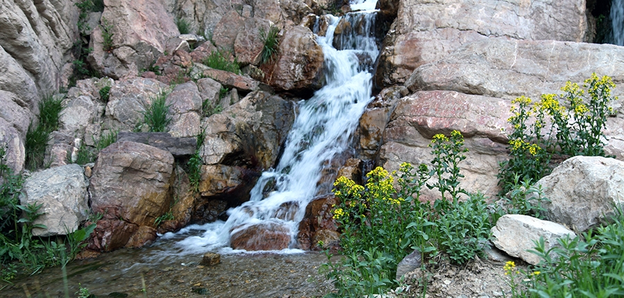 ابشار روستای دربیابان