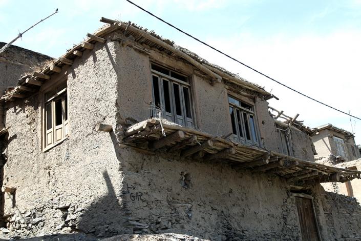 بافت روستای سربرج،خانه های روستای سربرج