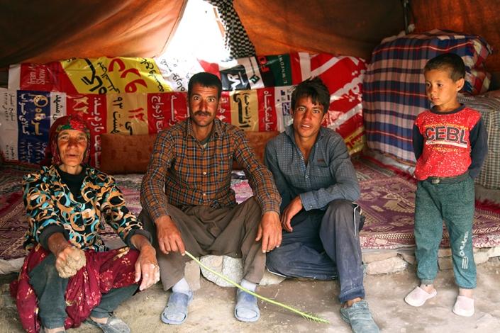 عشایر روستای در بیابان