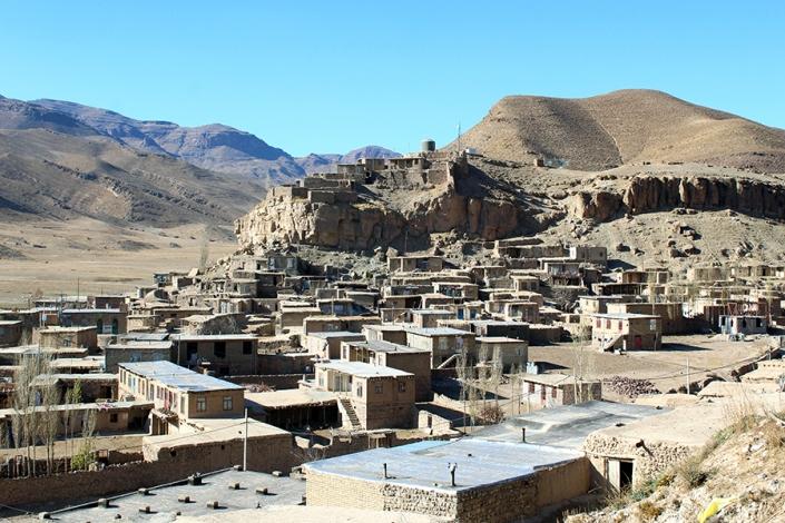 نمای روستای خرکت