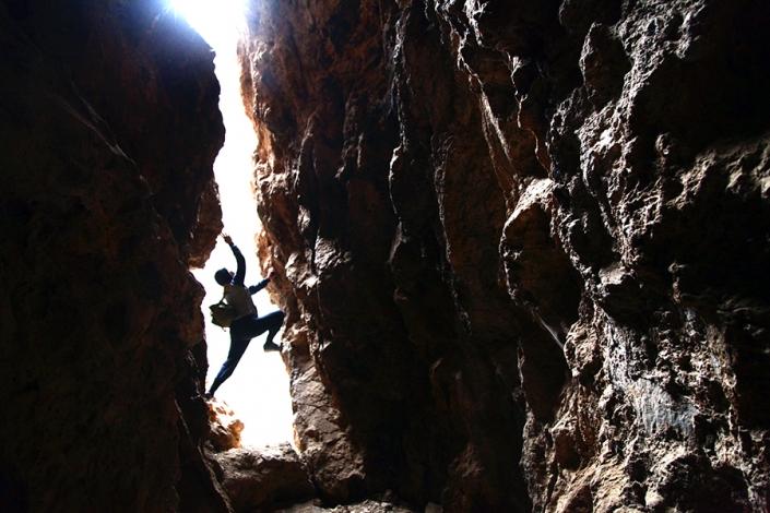 غار کفتر سوراخ اندرخ