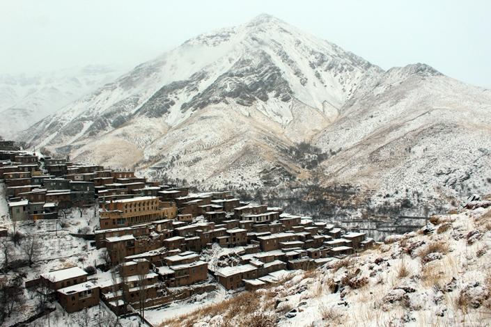 روستای زیبای دیزباد