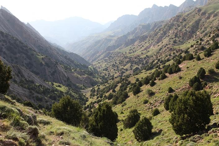 منطقه حفاظت شده دره سیستان،دره نوردی