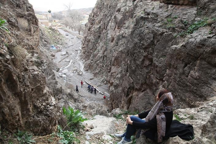 دره روستای خواجه حسین اباد