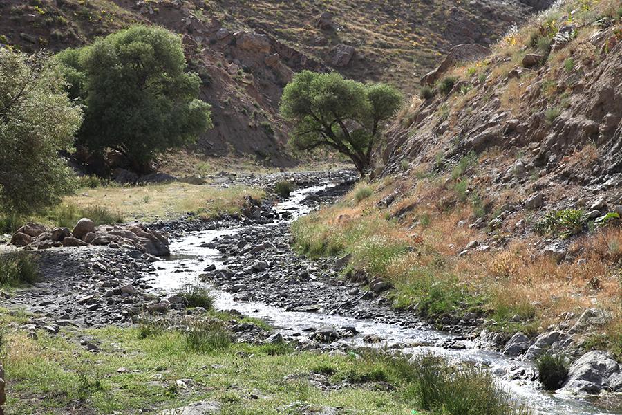 رودخانه سربرج(کال سوزو)،رودخانه طرق