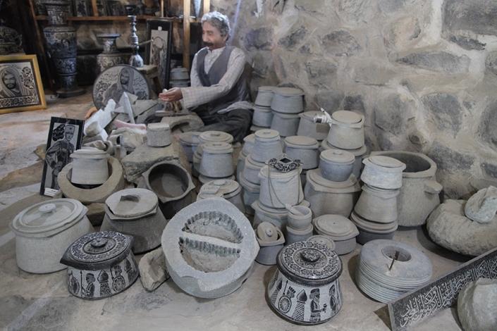 ظروف سنگی سوغات شهر مشهد