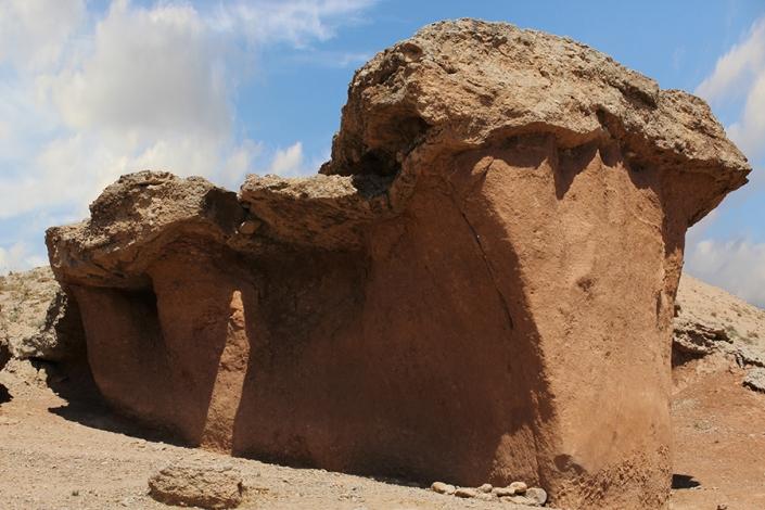 فرمی شبیه قارچ در روستای هندل اباد،ژئوریسم