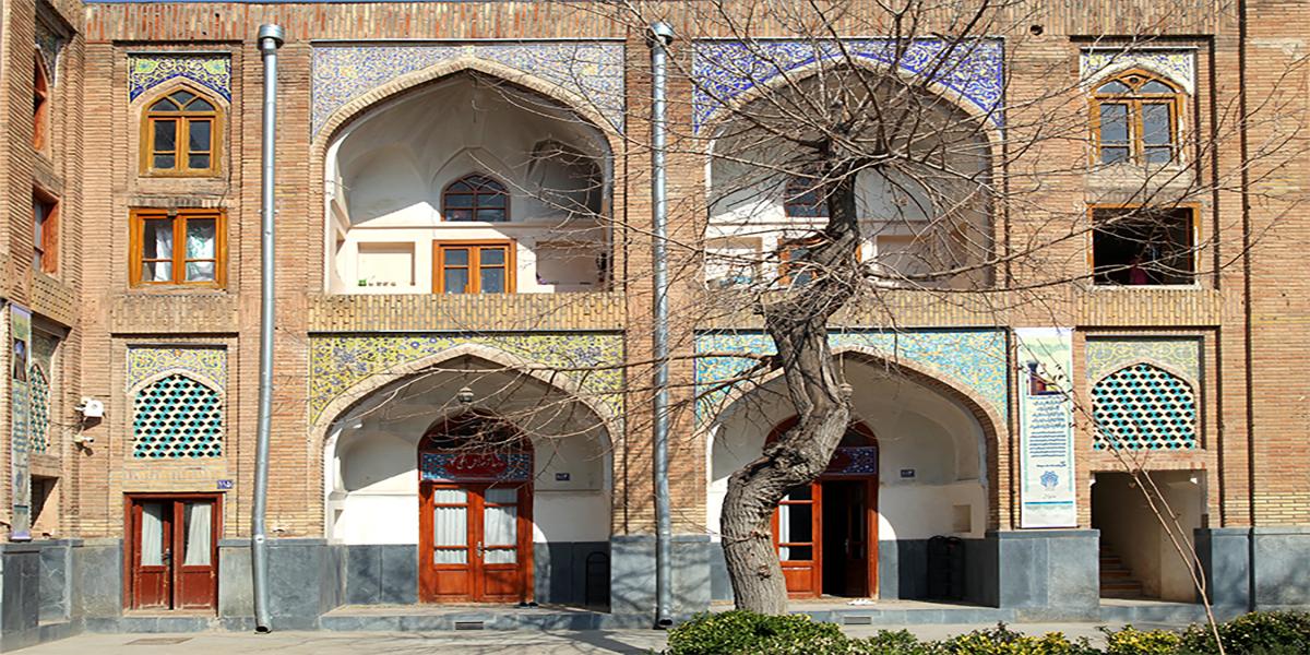 مدرسه عباس قلی خان شاملو،اثار تاریخی فرهنگی شهر مشهد